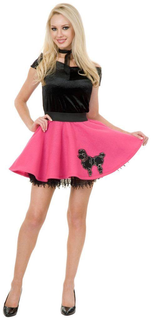 Poodle Skirt Costume Ideas
