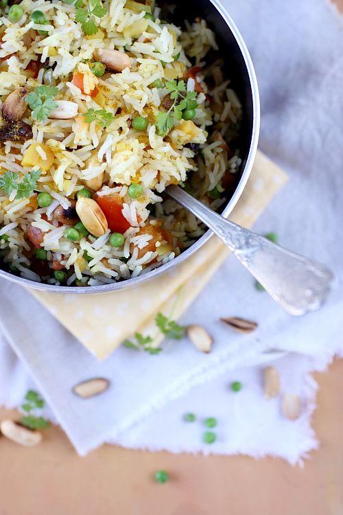 curry de riz végétarien