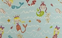 Draperie copii sirene 5720-604 MERMAID AQUA