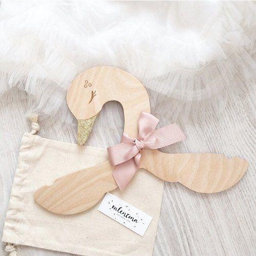 Valentina the Swan - Wood Hanger