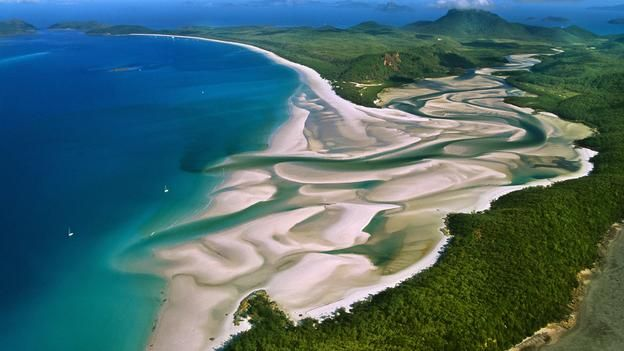 Great Barrier Reef, Whitehaven Beach, Avustralya, plaj, okyanus (Kredi: Gonzalo Azumendi / Getty)