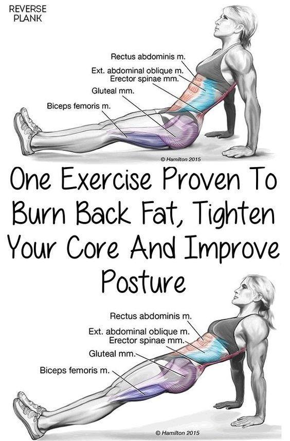 How to burn back fat fitness workout exercise benefit regimen back fat