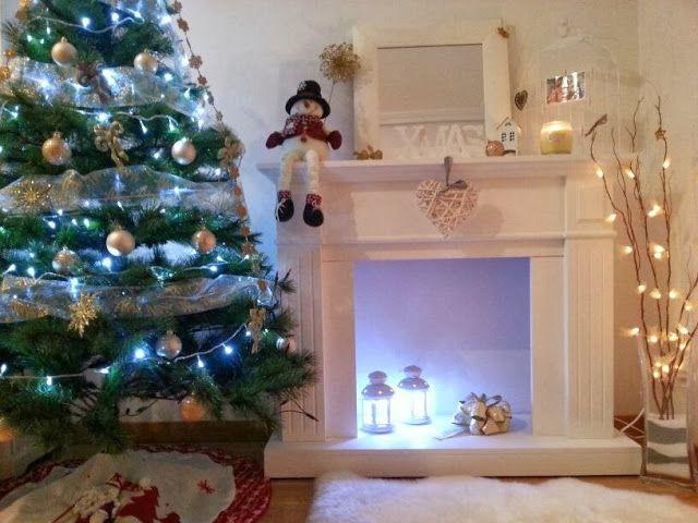 Mi chimenea por Navidad