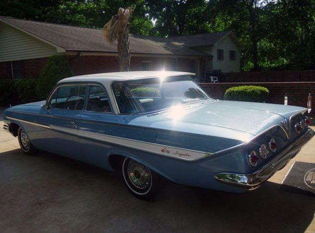1961 Chevrolet Impala 2-Door Sedan 348 CI, Automatic   Lot T243 ...
