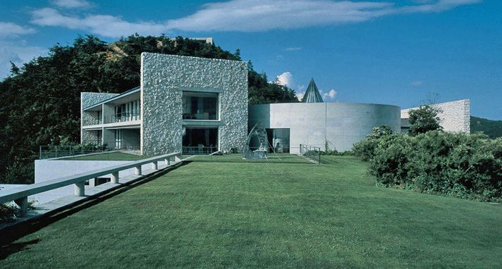 ホテル ベネッセハウス | 直島 | ベネッセアートサイト直島 Hotel Benesse House Museum (Naoshima, Japan)
