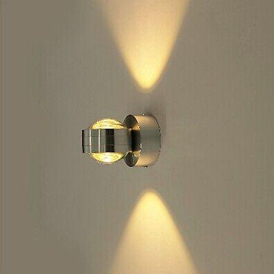 Design 3W Wandleuchte LED Wandlampe Flur lampe Spiegelleuchte Decken leuchte DHL