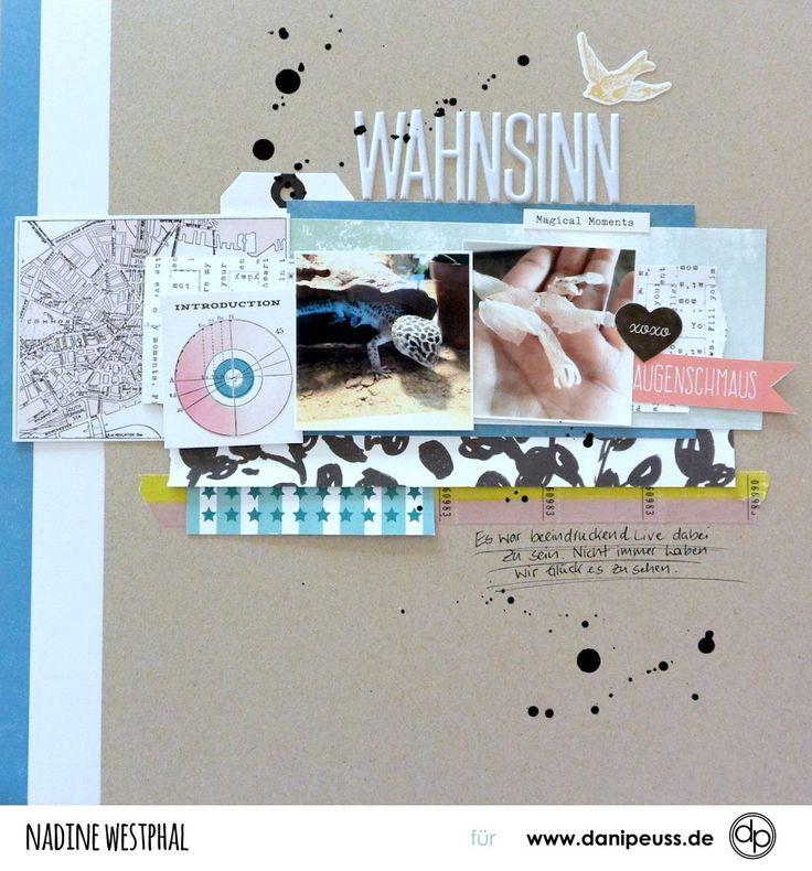 Layout mit dem Märzkit 17 von Nadine Westphal für www.danipeuss.de  #danipeuss