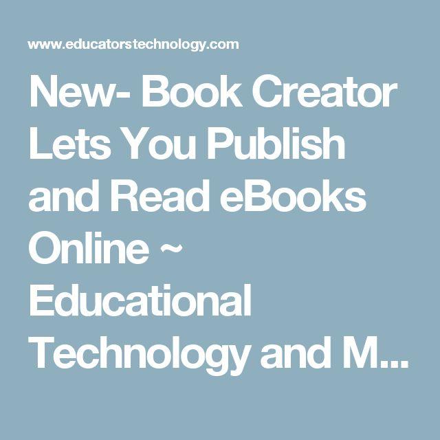 36 best book creator app images on pinterest book creator new book creator lets you publish and read ebooks online fandeluxe Image collections
