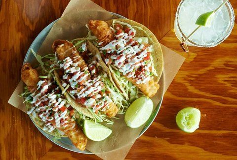 Hello Betty pairs a stunning ocean view with a Baja-inspired menu that includes ceviches, oyster shooters, and delicious tacos filled with everything from pork belly carnitas to fried avocado.