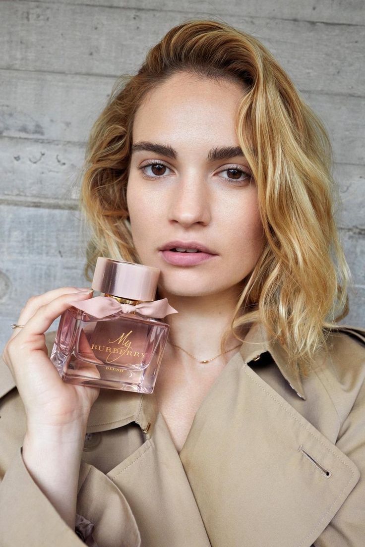 Downton abbey's lily james strips off for sexy and steamy burberry photoshoot