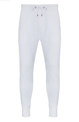 White Joggers