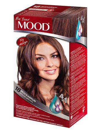 » N 18 MOCKABRUN Permanent hårfärg med det unika komplexet multitechnology – ett 4 in 1-system som färgar, tvättar, skyddar och vårdar ditt hår, för naturlig färg och glans. Täcker grått hår upp till 100%.  Brun nyans med gyllenbruna toner. Mörkt hår blir gyllenaktigt. Ljust hår blir mörkare. Grått hår blir mellanbrunt och gyllenaktigt.