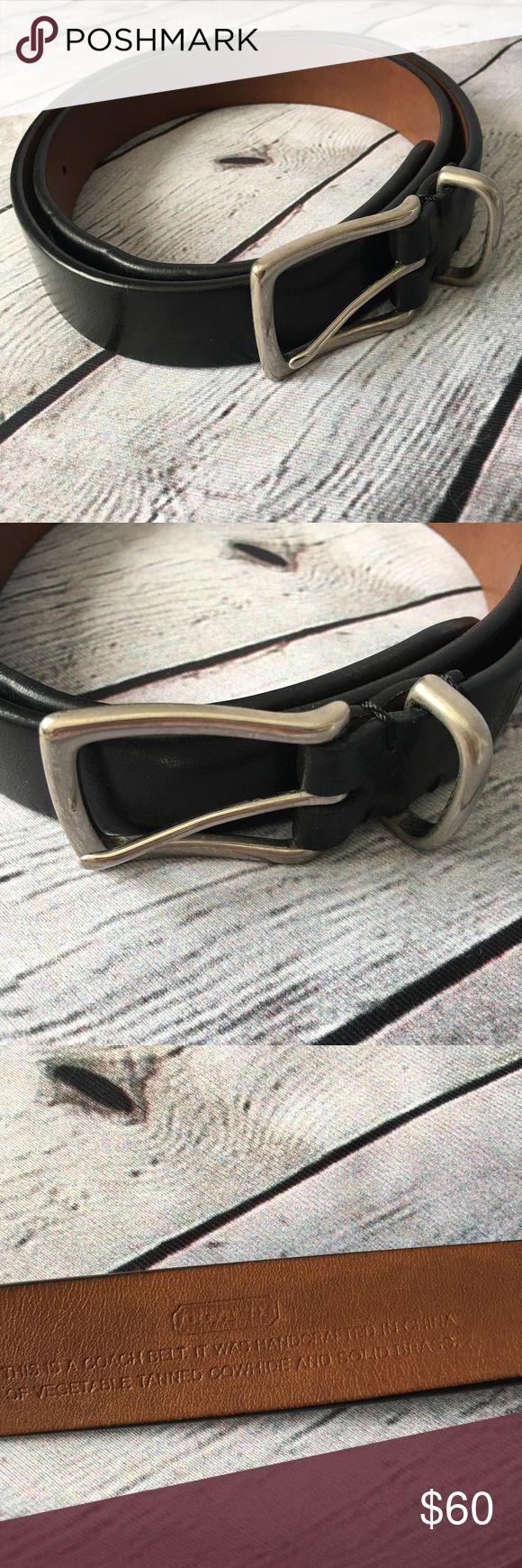 """Black leather coach belt Woman's size 32"""" black leather excellent condition. Bin 8 Coach Accessories Belts"""