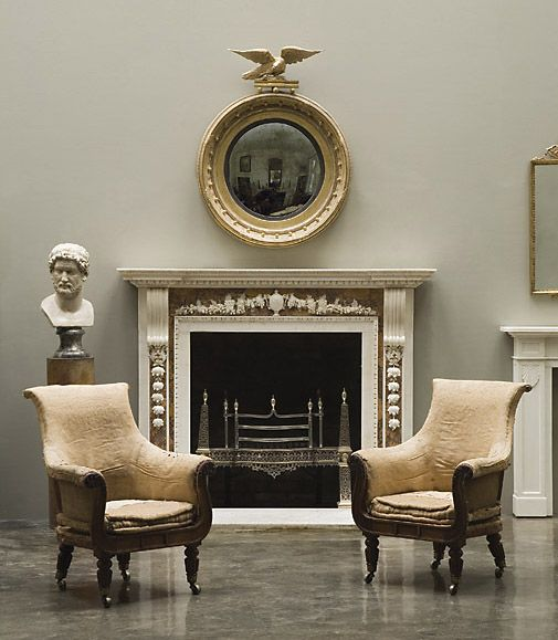 The image above shows a magnificent Statuary and Sienna Palladian chimneypiece (ref G073) sold from the 18th Century collection.