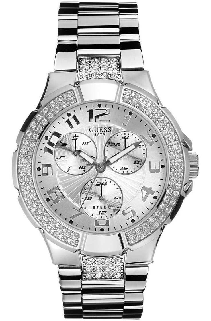 GUESS PRISM Stainless Steel Crystal Ladies  160€  http://www.oroloi.gr/product_info.php?products_id=4092