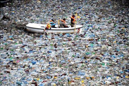 afval op zee