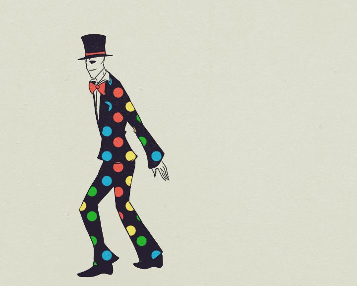 Dancing Splendorman Animation by Paradoxoid on deviantART. This can put a smile on anyone
