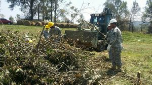 Tennessee National Guard Engineers assist in tornado debris removal