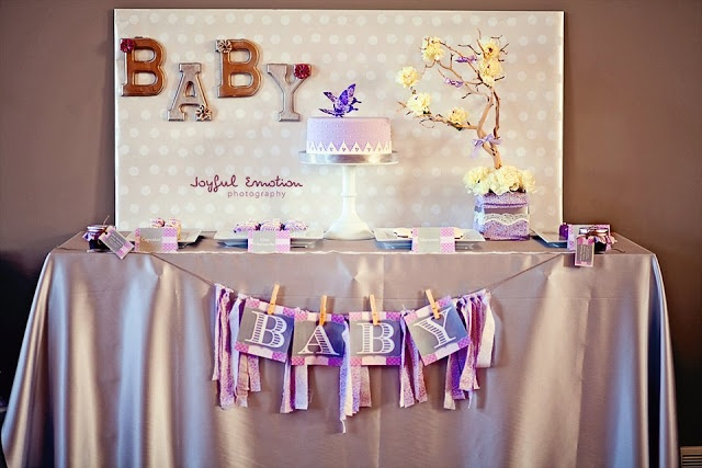 Love and Lavender Baby Shower