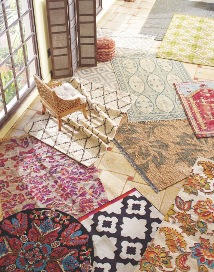 New Spring Rug Collection from Cost Plus World Market's  >> #WorldMarket Home Decor Ideas