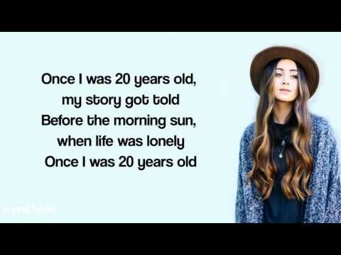 Jasmine Thompson - 7 Years Lyrics (Lukas Graham) - YouTube