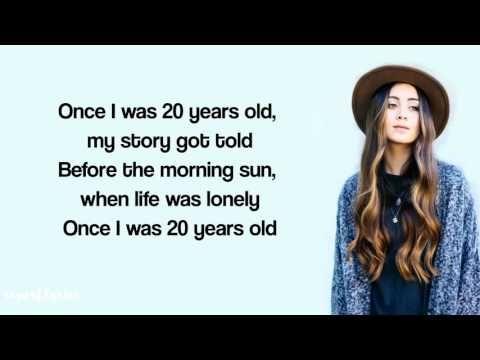 Jasmine Thompson - 7 Years Lyrics (Lukas Graham) - YouTube