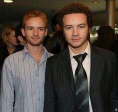Brothers Christopher Masterson (left, plays Francis in Malcom in the Middle) and older brother Danny Masterson (Steven Hyde in That 70s Show)