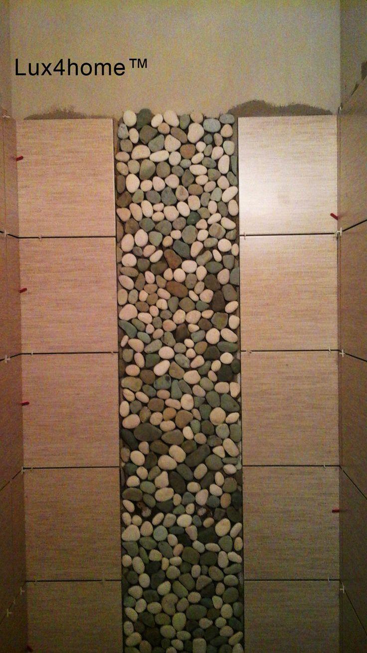 Kiesel Mosaik – Kieselsteinen aus Indonesien