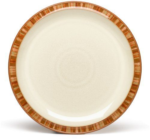 Denby Fire Stripes Dinner Plates, Set of 4 by Denby. $160.00. Strong, durable and chip-resistant. Each piece of pottery is painstakingly glazed by skilled craftsman.. Dishwasher, microwave, oven and freezer safe. Denby Fire Stripes Dinner Plates, Set of 4. Material: stoneware. Raise the temperature with Denby's hottest pattern. Fire comprises rich, warm colours on the coolest curved shapes - add pieces from the Fire Chilli range to spice up your dining. Get things sizzlin...