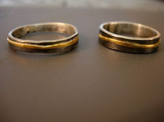 17 best Organic Recycled Rustic Wedding Bands images on Pinterest