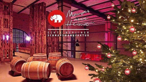 Du möchtest den Geist der Weihnacht schmecken, riechen und hören? Dann bist du bei MAMPES NEUE HEIMAT in Berlin genau an der Richtigen Stelle! #weihnachten #christmas #weihnachtsfeier #dezember #mampesneueheimat #berlin