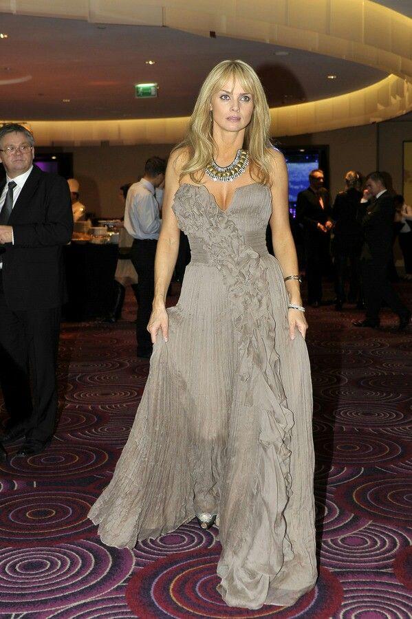 Izabella Scorupco #dress
