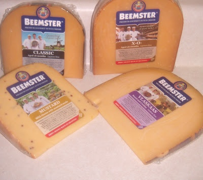 Beemster Cheese - the Classic is delicious! The 26 mod aged one has a yummy nutty flavor with a crunch! Yumm!
