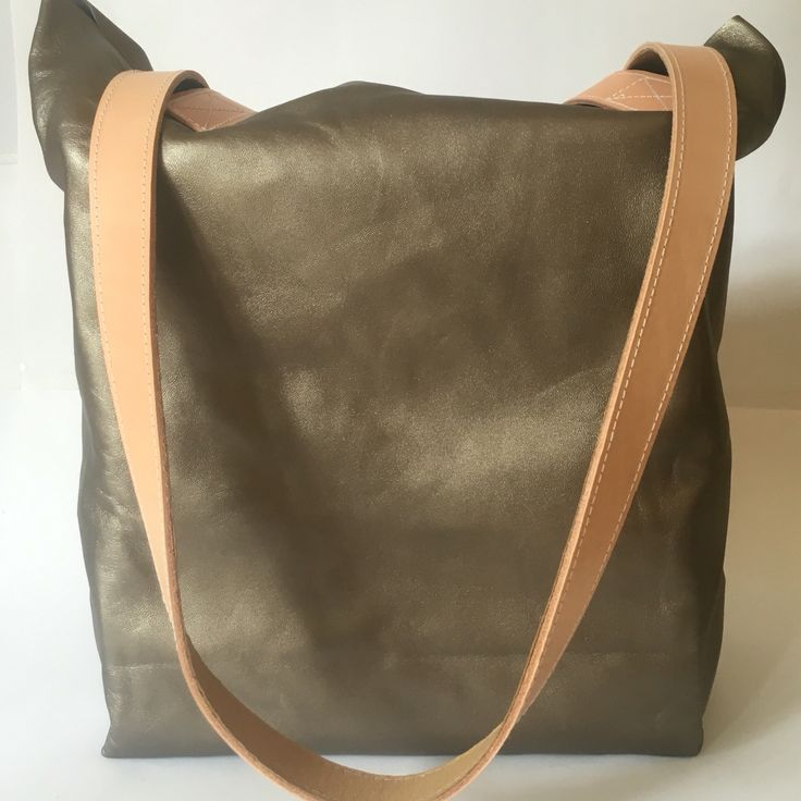 Asha in copper leather