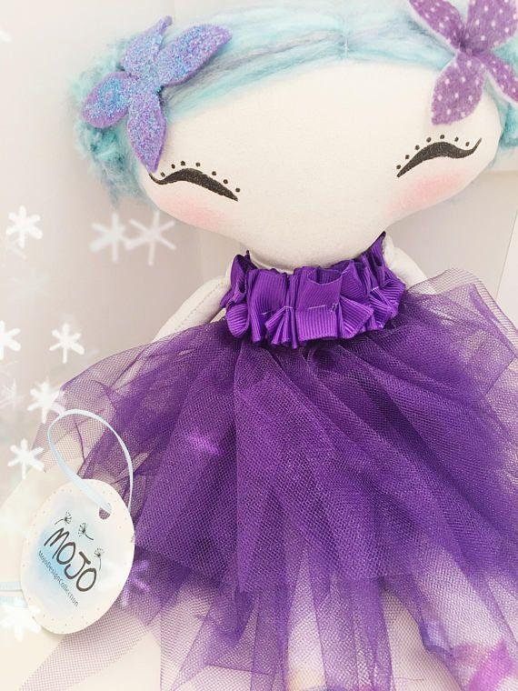Fairy doll / rag doll / heirloom doll / handmade doll /
