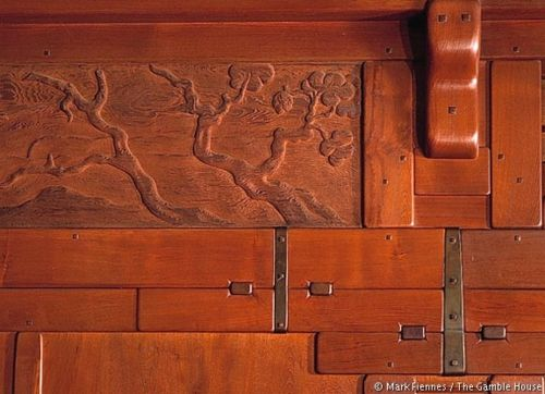 Detail From Gamble House, Greene And Greene Architects, Photo By Mark  Fiennes. (Gamble House Was Featured In U0027Back To The Futureu0027 And Other  Movies) Part 46