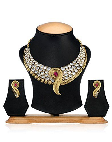Traditional Bollywood Antique Gold Plated Kundan Necklace... https://www.amazon.com/dp/B01MXEBUWP/ref=cm_sw_r_pi_dp_x_qGxgzb69QFFYK