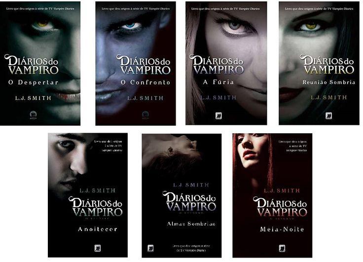 diarios de um vampiro livros - Pesquisa Google