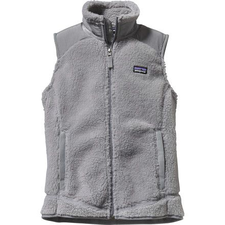 The Patagonia Women's Retro-X Vest embodies the company's philosophy of minimalism, embracing simplicity and utility at its core. That's not to say it's low-tech: the Retro-X is made of breathable, windproof polyester Synchilla polyester fleece and lined with brushed, moisture-wicking polyester mesh that's cozy and soft. Quilted Supplex nylon panels cover the shoulders and collar stands, and spandex binding at the cuffs and hem seal out drafts. The back panel widens slightly at the hem to…
