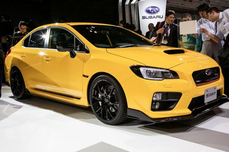 Subaru let its boy racer side out for the 2016 WRX STI S207. Only 400 will be built
