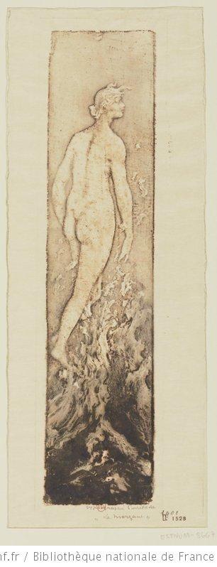 La Morgane : [estampe] / gypsographie Pierre Roche
