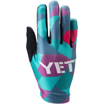 Just because it's warm out doesn't mean you have to sacrifice your paw protection to stay comfortable. The Yeti Cycles Women's Enduro Gloves feature lightweight ventilation and comfort with silicone grip for confident bar feel on hot summer days.