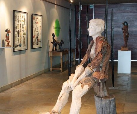 The fine art exhibited in the entrance area to TOKARA Winery is curated by Julia Meintjes, who presents three to four exhibitions here each year. Julia is an authority on South African art, both historical and contemporary.