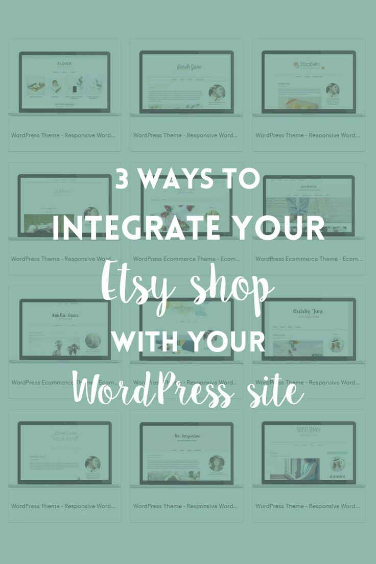 Learn 3 easy to follow ways to integrate your Etsy shop with your WordPress website and start selling directly to your audience.