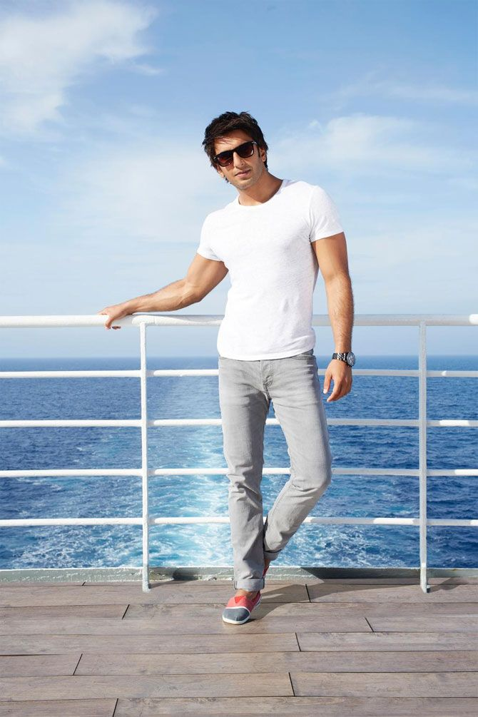 Ranveer Singh's look as Kabir Mehra in 'Dil Dhadakne Do'.