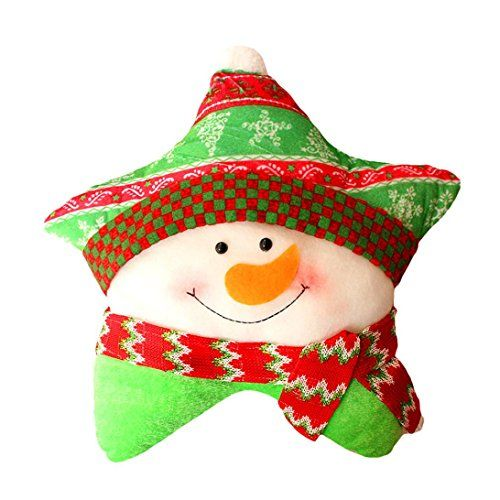 Lacaca Christmas Sofa Bed Home Decoration Festival Snow Men star Pillow Cushion Lacaca http://www.amazon.co.uk/dp/B0179C7UO0/ref=cm_sw_r_pi_dp_WcFmwb0E761KM