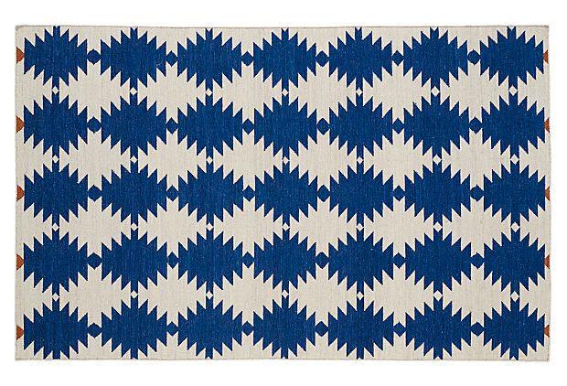 Elsa Flat-Weave Rug – One King's Lane #rug