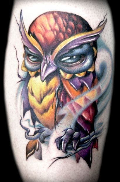 Awesome owl by Kelly Doty