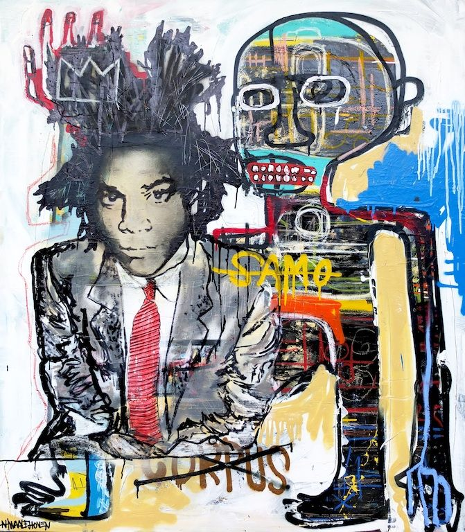 Basquiat for more paintings or interest go to ...