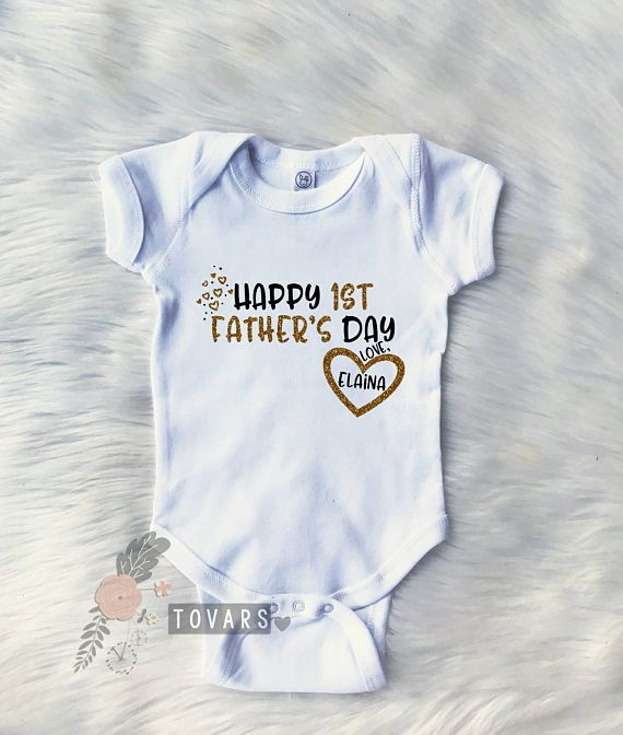 Happy First Fathers Day Shirt, Happy Father's #clothing @EtsyMktgTool http://etsy.me/2z0RcAx